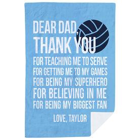 Volleyball Premium Blanket - Dear Dad