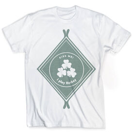 Vintage Hockey T-Shirt - Irish Diamond