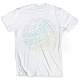 Vintage Volleyball T-Shirt - Words