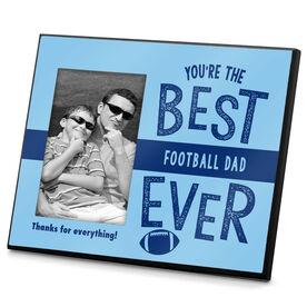 Football Photo Frame Best Football Dad Ever