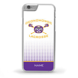 iPhone® Case - Oconomowoc Lacrosse Logo with Name