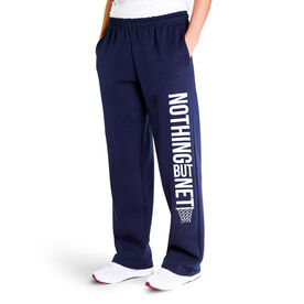 Basketball Fleece Sweatpants - Nothing But Net