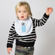 Soccer Baby Bib - I Get My Skills From