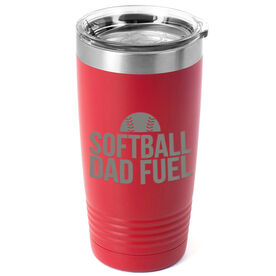 Softball 20oz. Double Insulated Tumbler - Softball Dad Fuel
