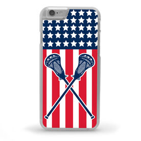 Guys Lacrosse iPhone® Case - USA Lax [iPhone 6 or 6S] - SS