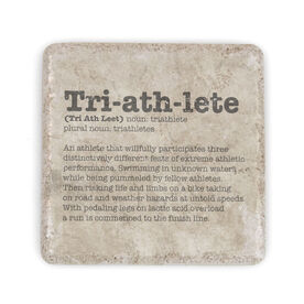 Triathlon Stone Coaster Triathlete Definition