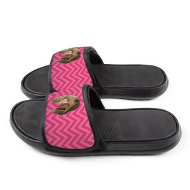 Personalized For You Repwell® Slide Sandals - Custom Face