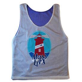 Guys Lacrosse Pinnie - Mass Lax Lighthouse