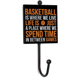 Basketball Medal Hook - Basketball Is Where We Live