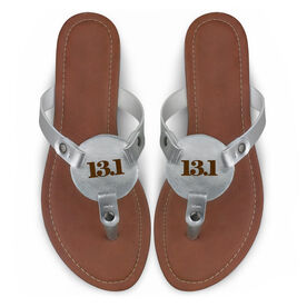 Running Engraved Thong Sandal - Simply 13.1