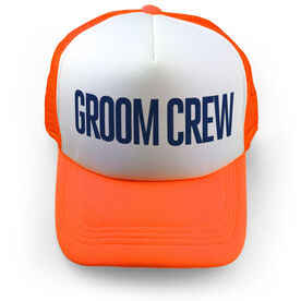 Personalized Trucker Hat - Groom Crew
