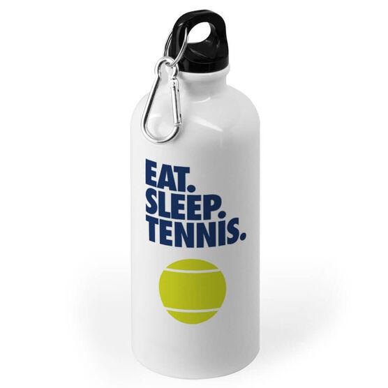 Tennis 20 oz. Stainless Steel Water Bottle - Eat. Sleep. Tennis.