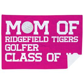 Golf Premium Blanket - Personalized Golf Mom