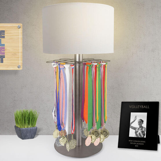 Volleyball Tabletop Medal Display Lamp