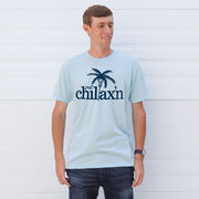 Lacrosse Short Sleeve T-Shirt - Just Chillax'n
