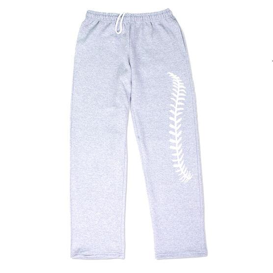 Baseball Fleece Sweatpants - Baseball Stitches
