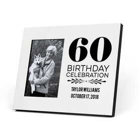 Personalized Photo Frame - Birthday Celebration