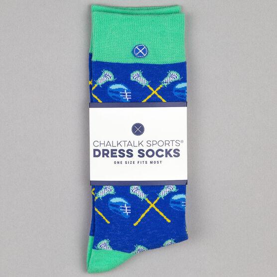Men's Lacrosse Dress Socks - FOGO Lacrosse Sticks & Helmet