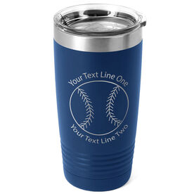 Baseball 20 oz. Double Insulated Tumbler - Icon