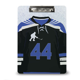 Hockey Custom Clipboard Personalized Hockey Jersey