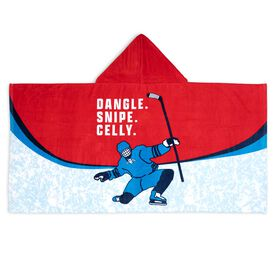 Hockey Hooded Towel - Dangle Snipe Celly
