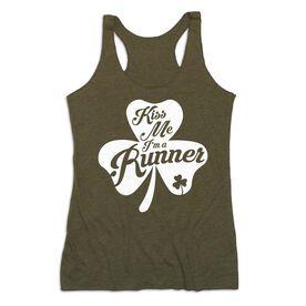 Women's Everyday Tank Top - Kiss A Lucky Runner
