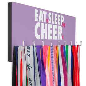 Cheerleading Hooked on Medals Hanger - Eat Sleep Cheer