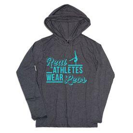 Women's Gymnastics Lightweight Hoodie - Real Athletes Wear Leos