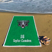 Soccer Premium Beach Towel - Custom Team Logo