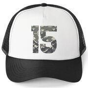 Trucker Hat - Air Force Custom Number