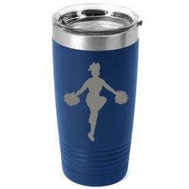 Cheerleading 20 oz. Double Insulated Tumbler - Low Liberty