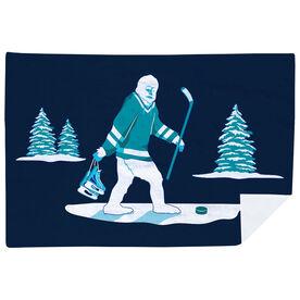 Hockey Premium Blanket - Hockey Yeti