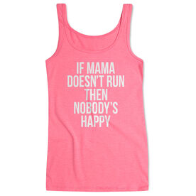 Running Women's Athletic Tank Top - If Mama Doesn't Run