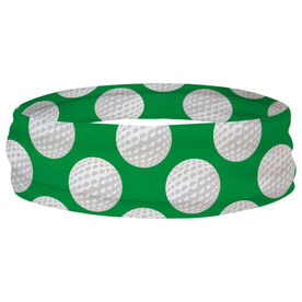Golf Multifunctional Headwear - Golf Ball Pattern RokBAND