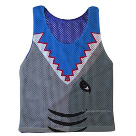 Guys Lacrosse Pinnie - Shark Attack