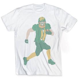 Vintage Football T-Shirt - Leprechaun