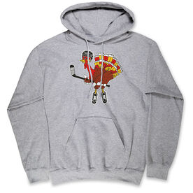 Hockey Hooded Sweatshirt - Hockey Top Shelf Turkey Tom