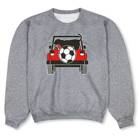Soccer Crew Neck Sweatshirt - Soccer Cruiser