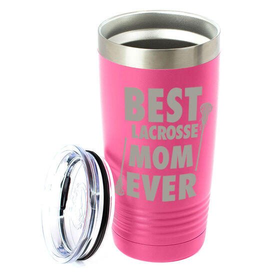 Girls Lacrosse 20 oz. Double Insulated Tumbler - Best Mom Ever
