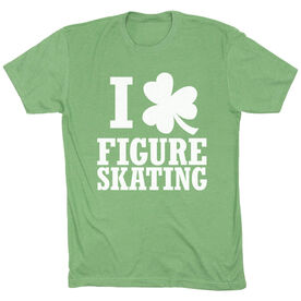 Figure Skating Short Sleeve T-Shirt - I Shamrock Figure Skating
