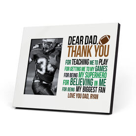 Football Photo Frame - Dear Dad