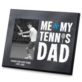 Tennis Photo Frame Me & My Tennis Dad