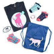 Girls Lacrosse Swag Bagz - Lula The Lax Dog