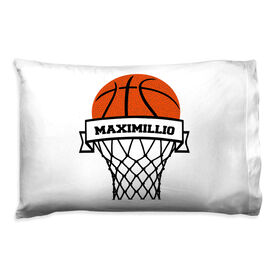 Basketball Pillowcase - Personalized Hoop