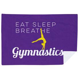 Gymnastics Premium Blanket - Eat Sleep Breathe