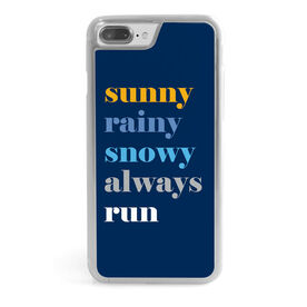 Running iPhone® Case - Run Mantra (Weather)