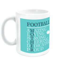 Football Coffee Mug - Mother Words