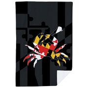 Guys Lacrosse Premium Blanket - Maryland Crab