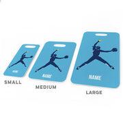 Softball Bag/Luggage Tag - Personalized Softball Pitcher