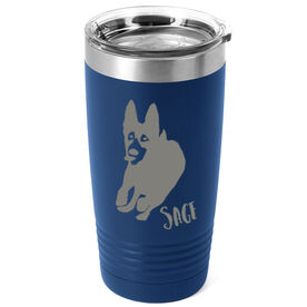 Personalized 20 oz. Double Insulated Tumbler - German Shepherd